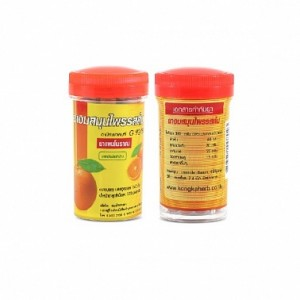 Драже от кашля (апельсин), 125 шт