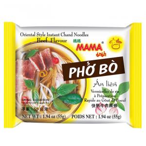 "Рисовая лапша ""МАМА"" со вкусом супа Фо Бо, говядина, брикет 55 грамм"