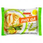"""Рисовая лапша """"МАМА"""" со вкусом супа Фо Га, курица, брикет 55 грамм"""