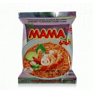 """Тайская лапша """"МАМА"""" со вкусом креветки (Том Ям) 60 грамм"""
