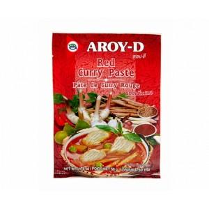 Паста карри красная «AROY-D», 50 грамм