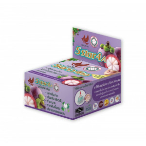 Зубная паста с травами и мангостином Mangosteen 5Star4A, 25 грамм