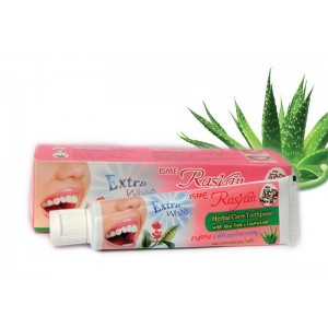 Зубная паста травяная с гвоздикой алоэ вера и листьями гуавы Rasyan, 30 грамм