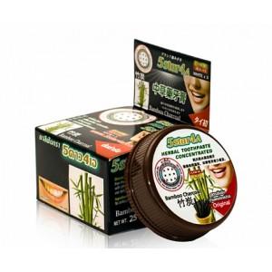 Зубная паста с травами и бамбуковым углем Charcoal 5Star4A, 25 грамм