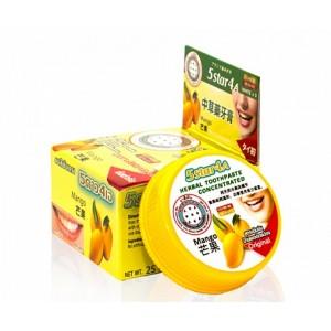 Зубная паста с травами и манго Mango 5Star4A, 25 грамм